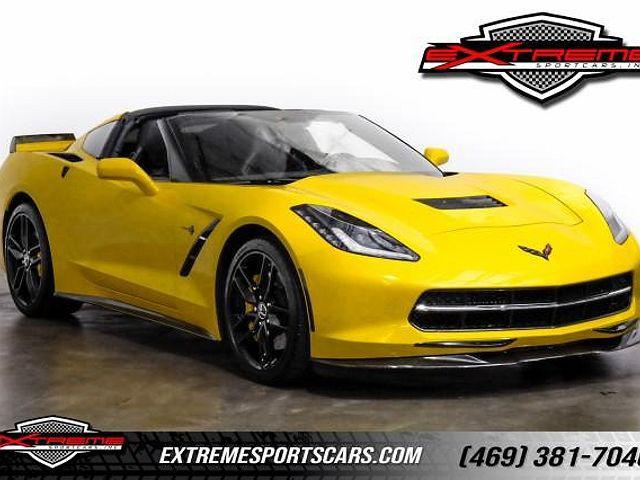 2015 Chevrolet Corvette Z51 3LT for sale in Addison, TX