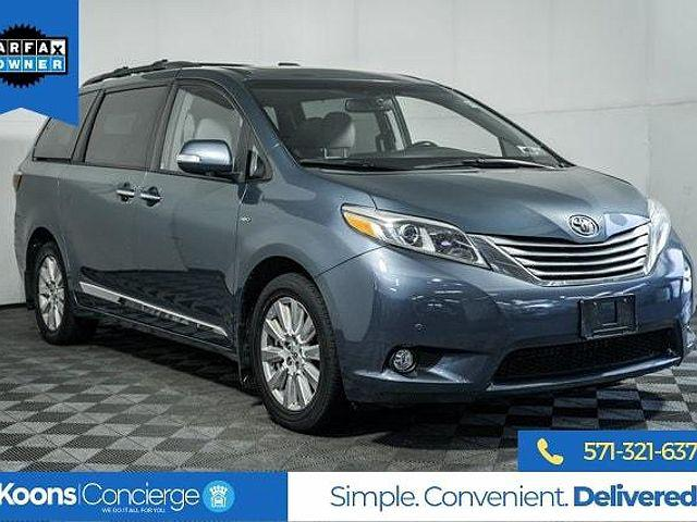 2017 Toyota Sienna Limited for sale in Falls Church, VA