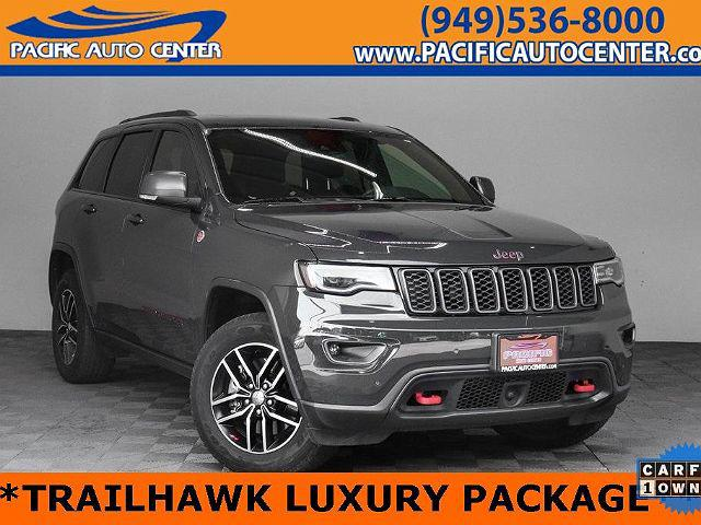 2018 Jeep Grand Cherokee Trailhawk for sale in Costa Mesa, CA
