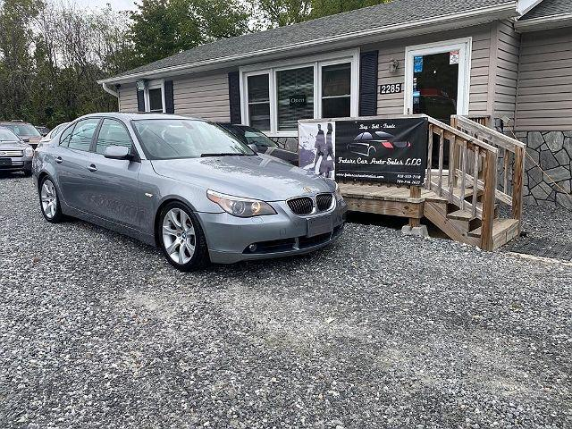 2007 BMW 5 Series 550i for sale in Marion, NC