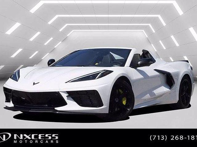 2021 Chevrolet Corvette 3LT for sale in Houston, TX