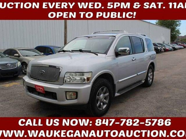 2004 INFINITI QX56 4dr AWD for sale in Waukegan, IL
