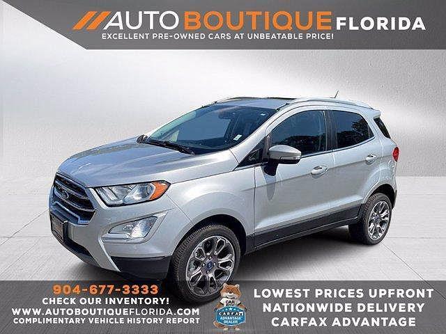 2020 Ford EcoSport Titanium for sale in Jacksonville, FL