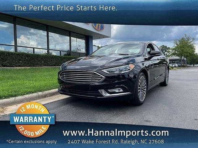 2018 Ford Fusion Titanium for sale in Raleigh, NC