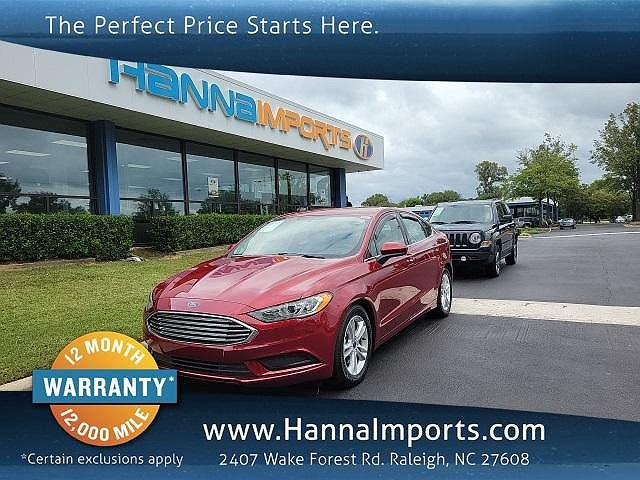 2018 Ford Fusion SE for sale in Raleigh, NC