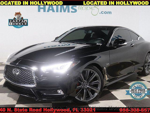 2018 INFINITI Q60 RED SPORT 400 for sale in Hollywood, FL
