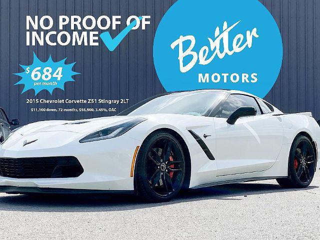 2015 Chevrolet Corvette Z51 2LT for sale in Austin, TX