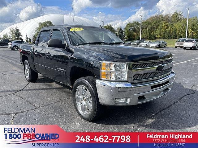 2013 Chevrolet Silverado 1500 LT for sale in Highland Township, MI