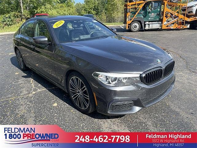 2018 BMW 5 Series 540i xDrive for sale in Highland Township, MI