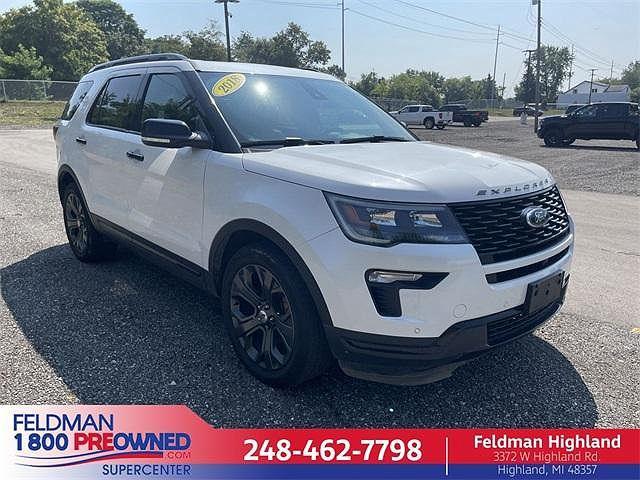 2018 Ford Explorer Sport for sale in Highland Township, MI