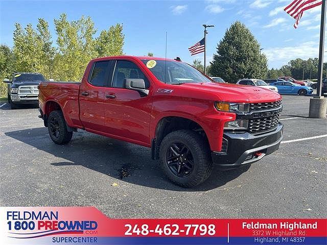 2019 Chevrolet Silverado 1500 Custom Trail Boss for sale in Highland Township, MI