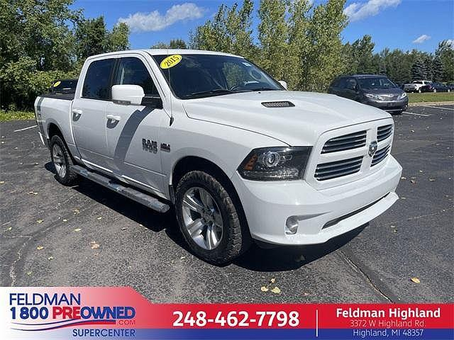 2015 Ram 1500 Sport for sale in Highland Township, MI