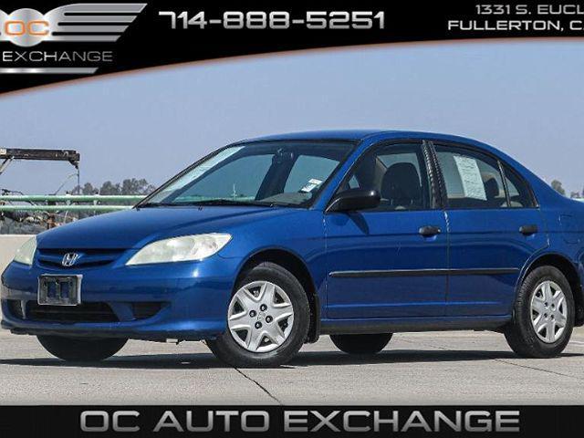 2004 Honda Civic VP for sale in Fullerton, CA