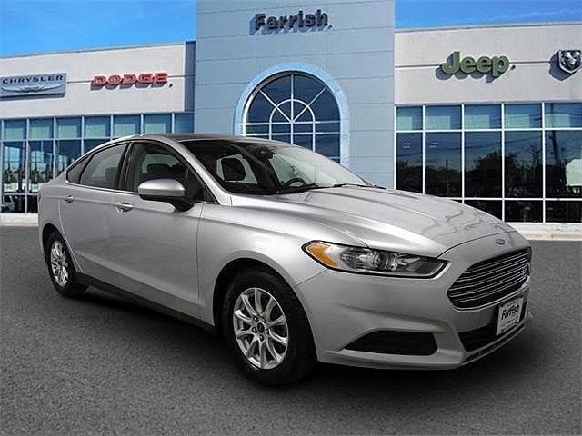 2015 Ford Fusion S for sale in Fairfax, VA