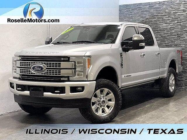 2017 Ford F-250 Platinum Edition for sale in Roselle, IL