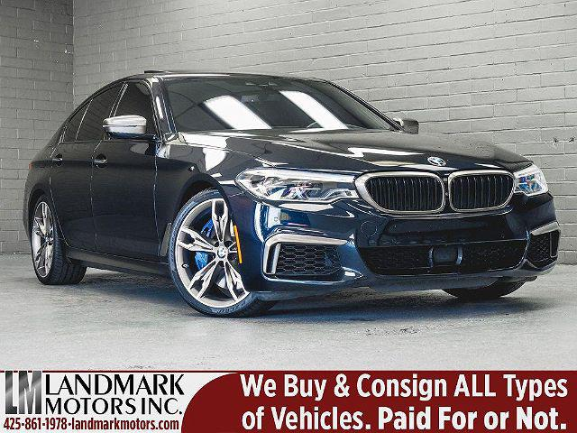 2018 BMW 5 Series M550i xDrive for sale in Bellevue, WA