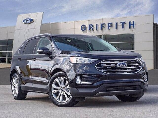 2020 Ford Edge Titanium for sale in San Marcos, TX