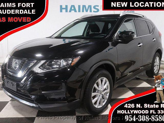 2017 Nissan Rogue SV for sale in Hollywood, FL