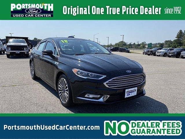 2018 Ford Fusion Titanium for sale in Portsmouth, NH