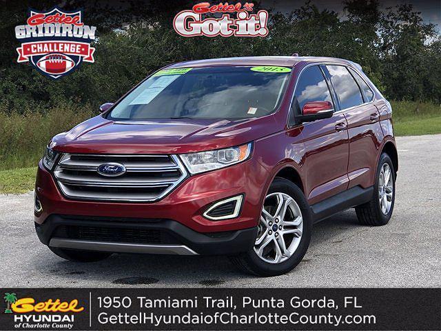 2015 Ford Edge Titanium for sale in Punta Gorda, FL