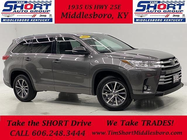 2018 Toyota Highlander XLE for sale in Middlesboro, KY