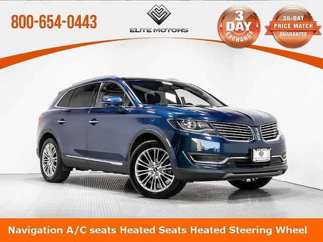 2017 Lincoln MKX Reserve for sale in Waukegan, IL