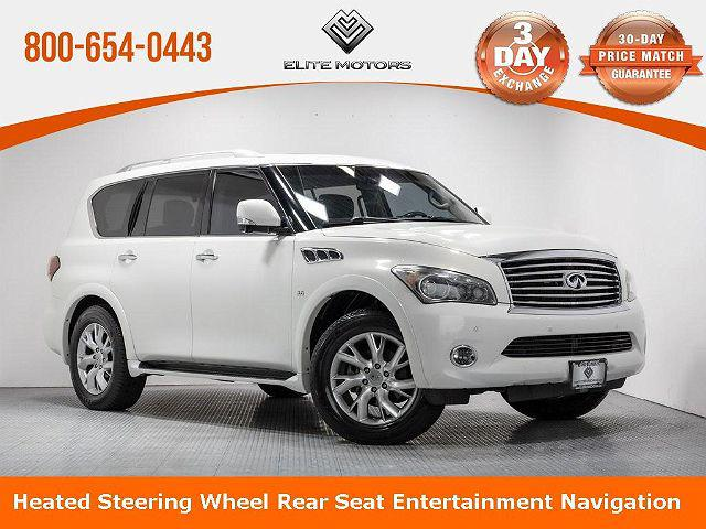 2014 INFINITI QX80 4WD 4dr for sale in Waukegan, IL