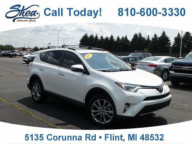 2017 Toyota RAV4 Limited for sale in Flint, MI