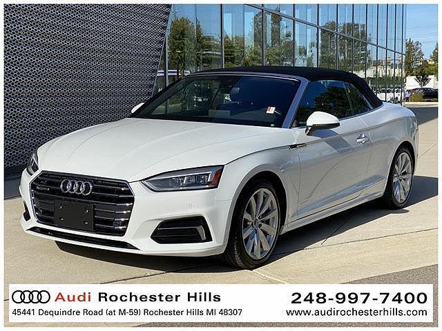 2018 Audi A5 Cabriolet Premium Plus for sale in Rochester Hills, MI