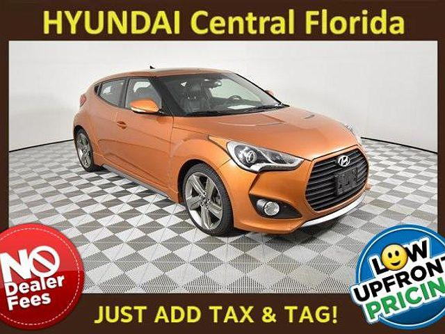 2015 Hyundai Veloster Turbo for sale in Clermont, FL
