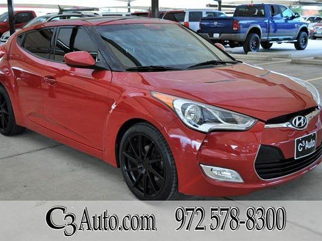 2013 Hyundai Veloster w/Black Int for sale in Plano, TX