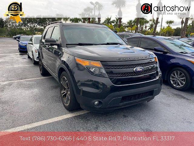 2015 Ford Explorer Sport for sale in Plantation, FL