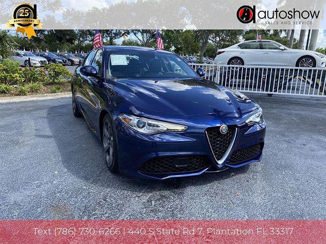 2018 Alfa Romeo Giulia RWD for sale in Plantation, FL