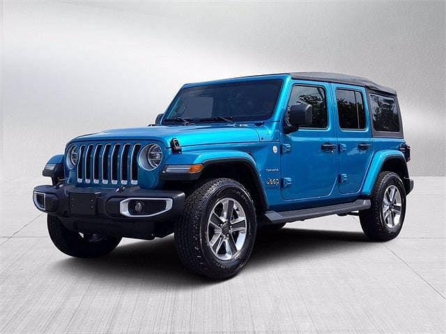 2020 Jeep Wrangler Sahara for sale in Clarksville, MD
