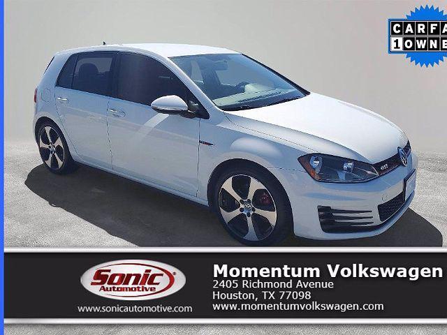 2017 Volkswagen Golf GTI S for sale in Houston, TX