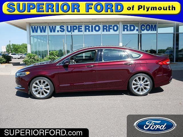 2017 Ford Fusion Platinum for sale in Plymouth, MN
