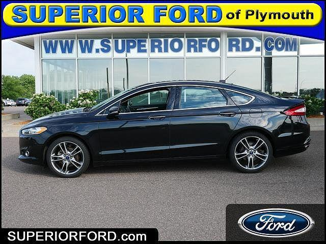 2015 Ford Fusion Titanium for sale in Plymouth, MN