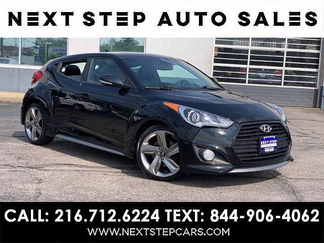 2013 Hyundai Veloster Turbo w/Blue Int for sale in Parma, OH