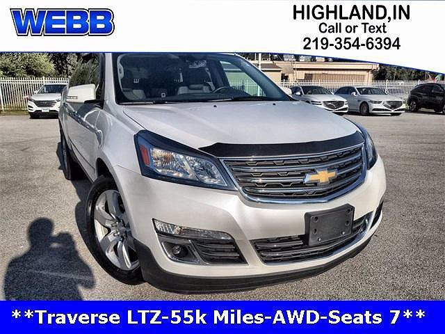 2016 Chevrolet Traverse LTZ for sale in Highland, IN