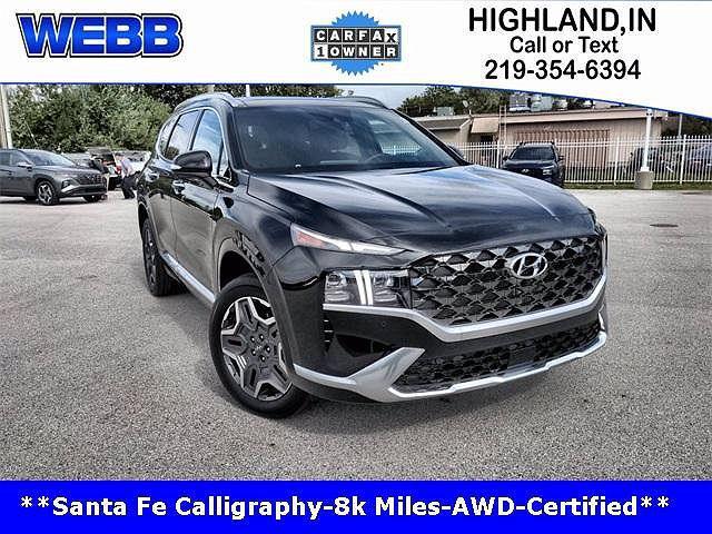 2021 Hyundai Santa Fe Calligraphy for sale in Highland, IN