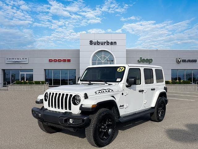 2021 Jeep Wrangler Unlimited Sahara Altitude for sale in Troy, MI