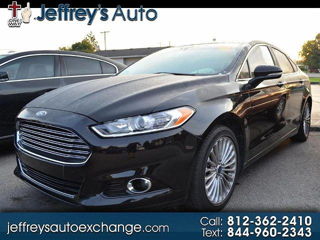2016 Ford Fusion Titanium for sale in Scottsburg, IN