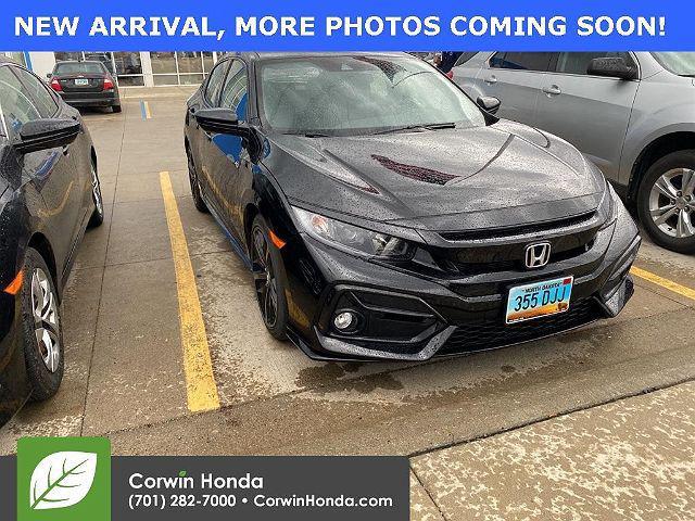 2021 Honda Civic Hatchback Sport for sale in Fargo, ND
