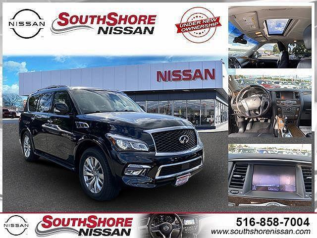 2017 INFINITI QX80 AWD for sale in Amityville, NY