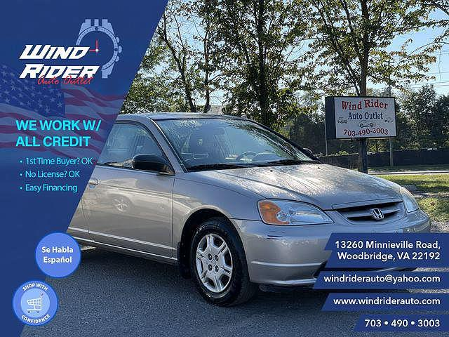 2002 Honda Civic LX for sale in Woodbridge, VA