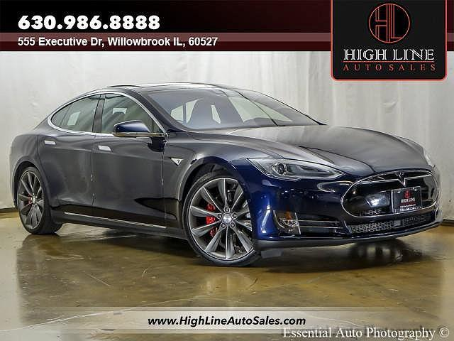 2014 Tesla Model S P85D for sale in Willowbrook, IL