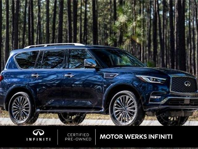 2018 INFINITI QX80 AWD for sale in Barrington, IL