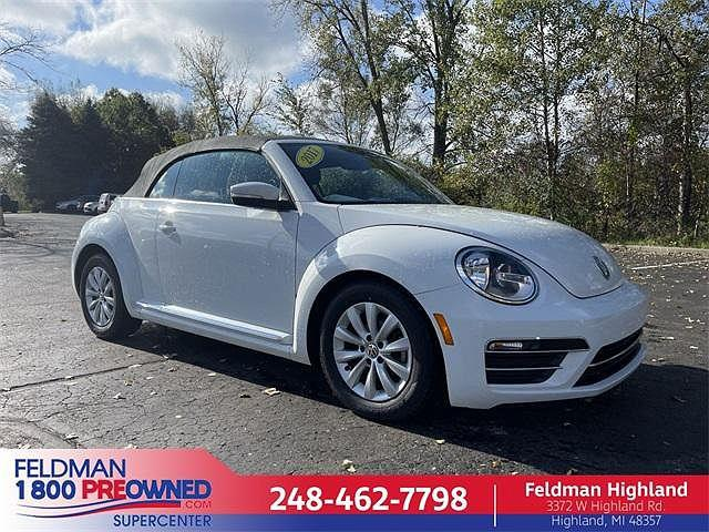 2017 Volkswagen Beetle Convertible 1.8T S/1.8T SE/1.8T SEL/1.8T Classic/#PinkBeetle for sale in Highland Township, MI