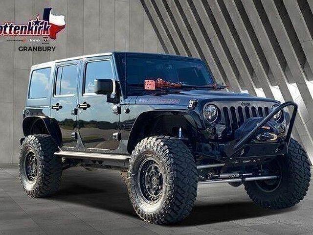 2016 Jeep Wrangler Unlimited Rubicon Hard Rock for sale in Granbury, TX
