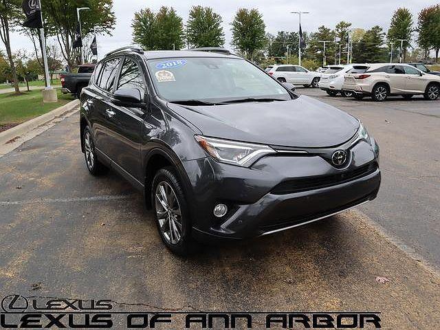 2018 Toyota RAV4 Limited for sale in Ann Arbor, MI
